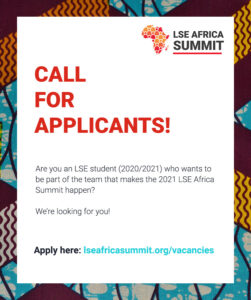 Poster with the text 'Call for Applicants'